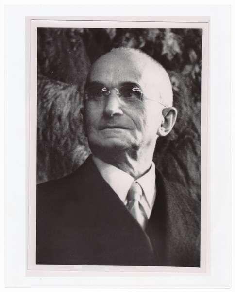 Ritratto del Presidente della Repubblica Luigi Einaudi