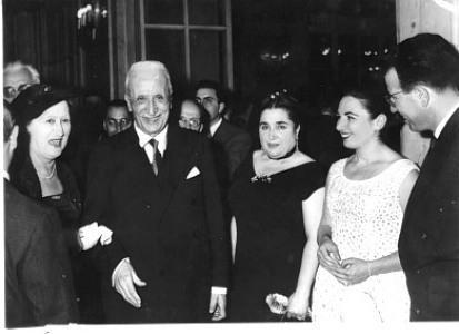 Il Presidente della Repubblica Enrico De Nicola