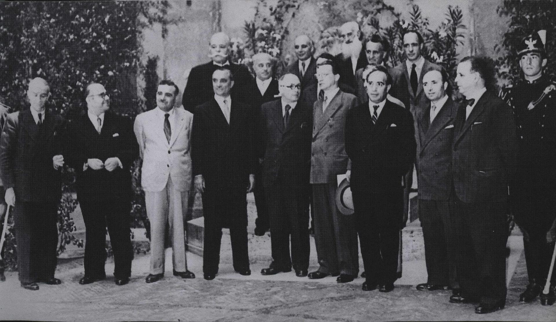 II Governo De Gasperi, 10 luglio 1946