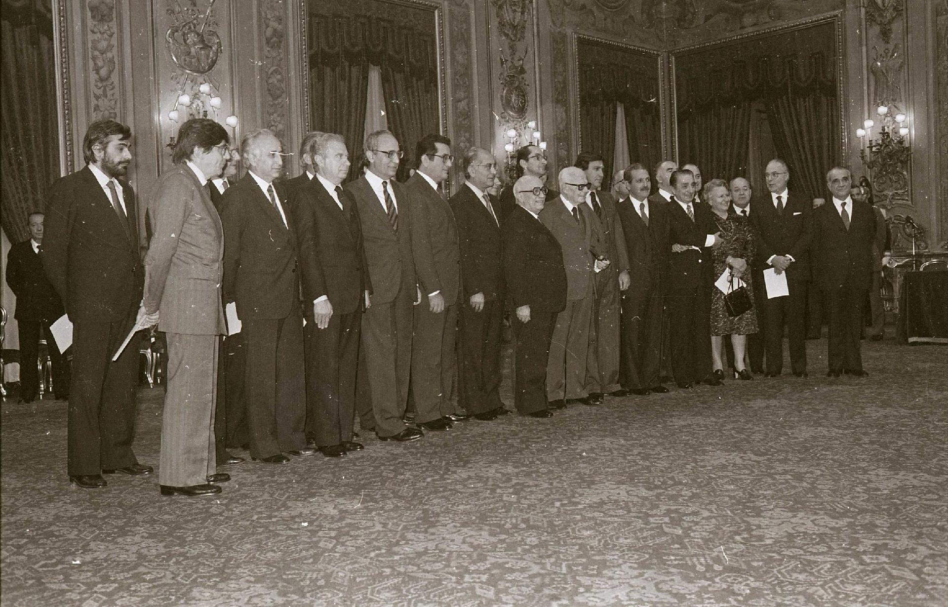 V Governo Fanfani, 1° dicembre 1982