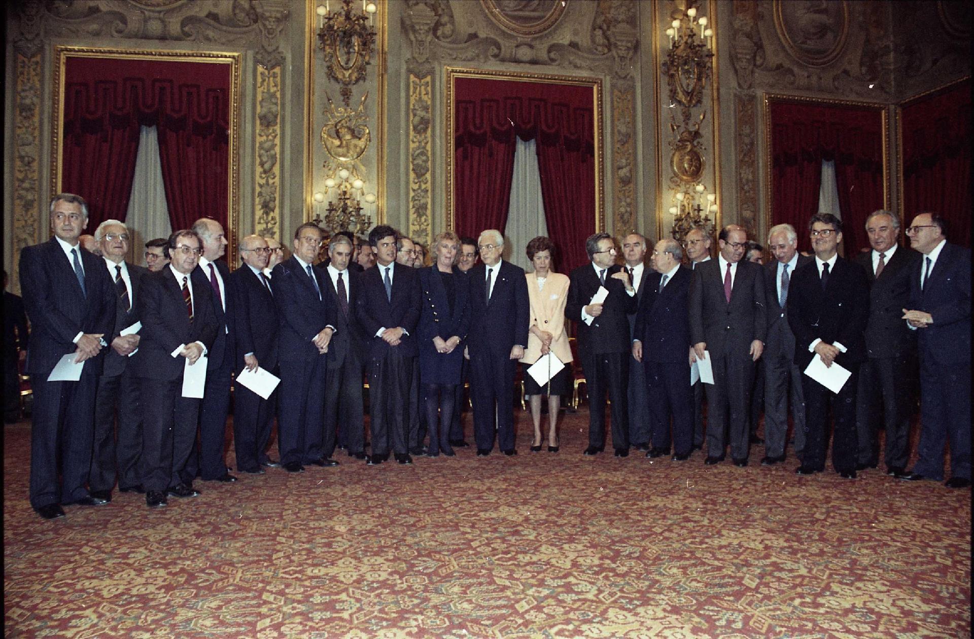 VII Governo Andreotti, 13 aprile 1991