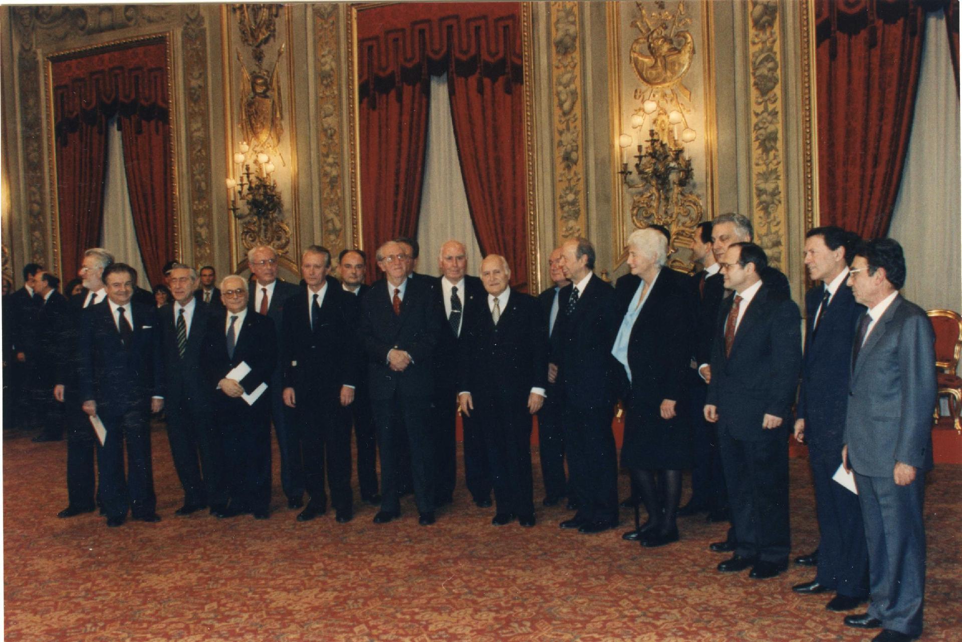 Governo Dini, 17 gennaio 1995