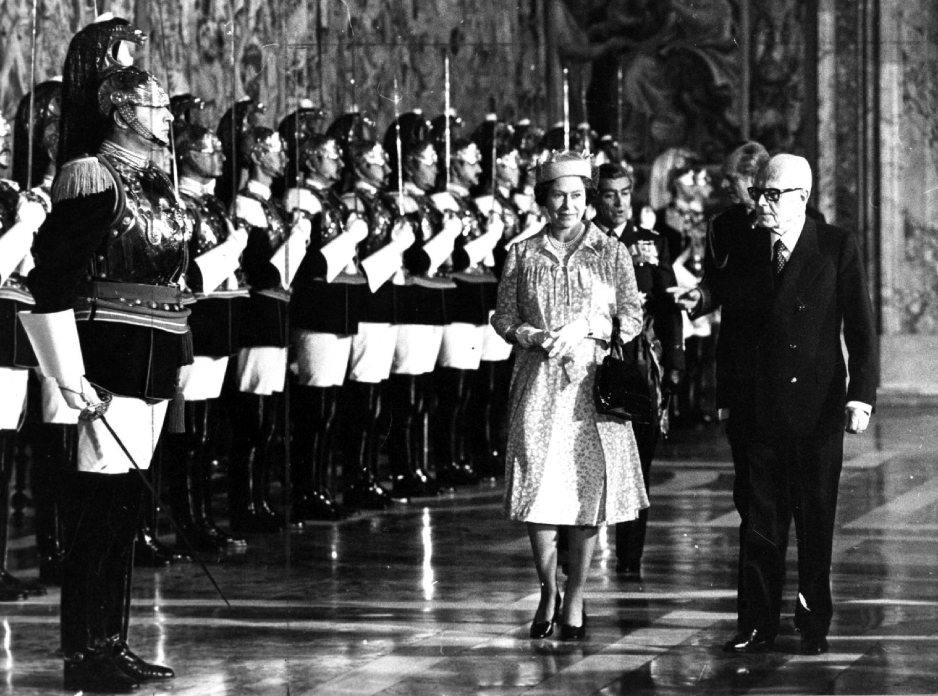 Visita di Stato di Sua Maestà la Regina del Regno Unito di Gran Bretagna e Irlanda del Nord, Elisabetta II, e di Sua Altezza Reale il Principe Filippo Duca di Edimburgo, (14-17 ottobre 1980)