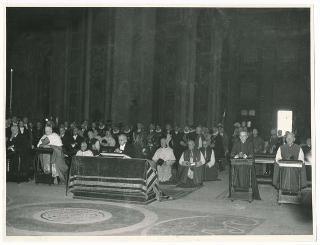 Visita ufficiale del Presidente della Repubblica Luigi Einaudi a Sua Santità Papa Pio XII