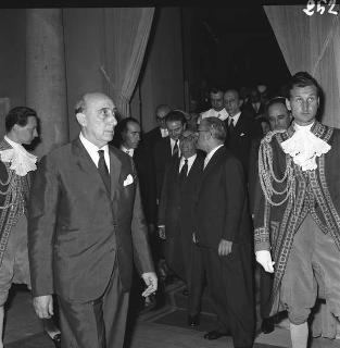 Visita di stato del Presidente della Turchia Celal Bayar