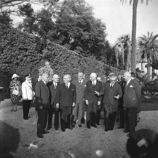 Ricevimento in giardino in onore del Corpo diplomatico, per la Festa della Repubblica