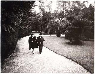 Foto del Presidente della Repubblica Antonio Segni e della famiglia.