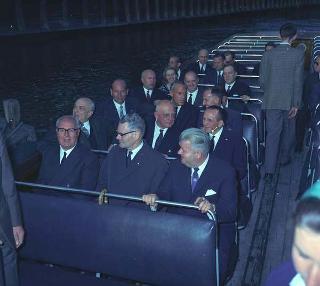 Visita di Stato del Presidente della Repubblica Giuseppe Saragat  in Norvegia e visita non ufficiale in Danimarca