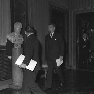 Evelyn Shuckburgh, nuovo ambasciatore della Gran Bretagna: presentazione lettere credenziali