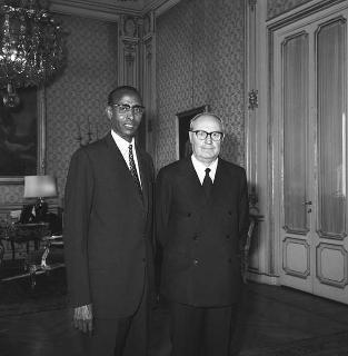 Mohamed Said Samantar, nuovo ambasciatore di Somalia: presentazione lettere credenziali