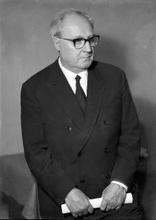Ritratto ufficiale del Presidente della Repubblica Giuseppe Saragat