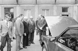 """Presentazione della nuova vettura """"Alfa Romeo 2500"""""""