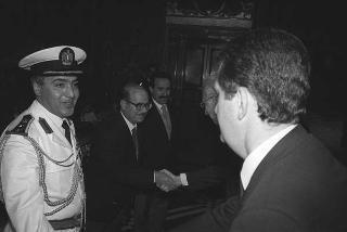 Mohammed Said Al Sahaf, nuovo ambasciatore della Repubblica dell'Iraq: presentazione delle Lettere credenziali