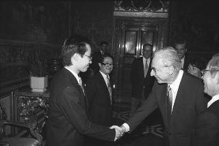 Reishi Teshima, nuovo ambasciatore del Giappone: presentazione delle Lettere credenziali
