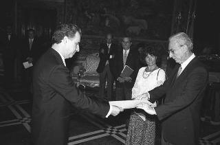 Andros Nicolaides, nuovo ambasciatore della Repubblica di Cipro: presentazione lettere credenziali