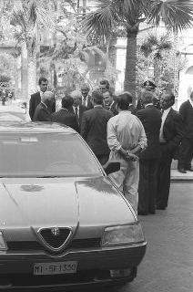 Presentazione della nuova autovettura Alfa Romeo 164