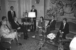 Incontro con il Vice Presidente degli USA George Bush