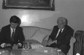 """Intervista del Presidente Cossiga al """"Times"""""""