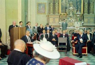 Visita di Stato del Presidente della Repubblica Francesco Cossiga nella Repubblica di Malta