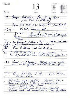 Pagine dei diari del Presidente Emerito Carlo Azeglio Ciampi la cui trascrizione è stata autorizzata dal Senatore a vita come tipica espressione del materiale affidato all'Archivio Storico della Presidenza della Repubblica. 13 maggio 1999 Elezione di Ciampi a Presidente della Repubblica