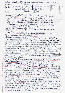 Pagine dei diari del Presidente Emerito Carlo Azeglio Ciampi la cui trascrizione è stata autorizzata dal Senatore a vita come tipica espressione del materiale affidato all'Archivio Storico della Presidenza della Repubblica. 11 settembre 2001 Attacchi terroristici a New York e Washington
