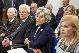 Il Presidente Sergio Mattarella in occasione dell'incontro di studio per il ventesimo anniversario dell'inaugurazione dell'Archivio Storico della Presidenza della Repubblica Roma - Palazzo Sant'Andrea, 20 settembre 2016