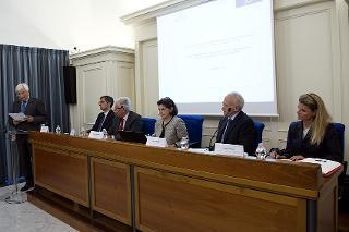 L'intervento del Segretario generale Ugo Zampetti in occasione dell'incontro di studio per il ventesimo anniversario dell'inaugurazione dell'Archivio Storico della Presidenza della Repubblica - Roma - Palazzo Sant'Andrea, 20 settembre 2016
