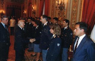 Forze dell'ordine in servizio presso il Segretariato Generale della Presidenza della Repubblica
