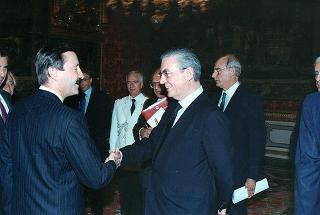 Joao Diogo Correira Saraiva Nunes Barata, nuovo ambasciatore della Repubblica del Portogallo: presentazione di lettere credenziali