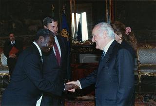 Gregoire Mouberi, nuovo ambasciatore della Repubblica del Congo: presentazione di lettere credenziali