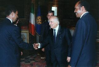 Andemicael Kahsai, nuovo ambasciatore di Eritrea: presentazione di lettere credenziali