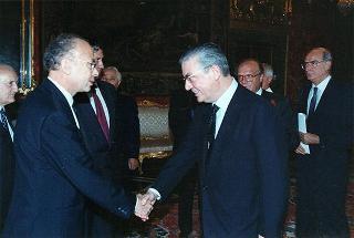 Jean Louis Lucet, nuovo ambasciatore della Repubblica Francese: presentazione di lettere credenziali