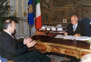 Luis Durnwalder, presidente della Giunta provinciale di Bolzano