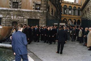 Roma: intervento del Presidente della Repubblica al funerale dell'on. Ugo Pecchioli