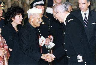 Visita di Stato in Italia del Presidente dell'India e della signora Sharma
