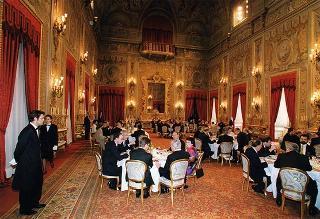 Colazione offerta dal Presidente della Repubblica in occasione delle cerimonie celebrative del Quarantennale della firma dei Trattati di Roma