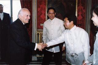 Philippe J. Lhuillier, nuovo ambasciatore della Repubblica delle Filippine: presentazione lettere credenziali