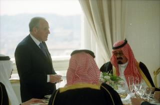Incontro con il Principe Ereditario del Regno dell'Arabia Saudita, Sua Altezza Reale Abdullah Bin Abdulaziz Al Saud.