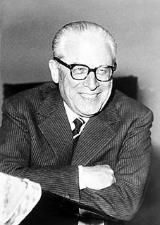 Il Presidente della Repubblica Giovanni Gronchi (1955 - 1962), primo piano