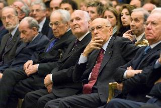 """Il Presidente Giorgio Napolitano durante il convegno """"Pietro Nenni un socialista per la Repubblica"""""""
