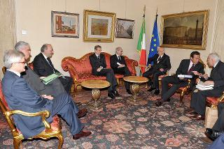 Il Presidente Giorgio Napolitano alla presentazione dell'edizione nazionale degli scritti di Antonio Gramsci