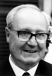 Il Presidente della Repubblica Giuseppe Saragat, primo piano