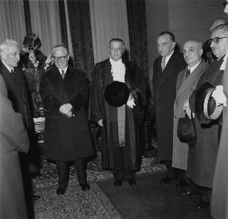 Inaugurazione dell'anno giudiziario della Corte Suprema di Cassazione
