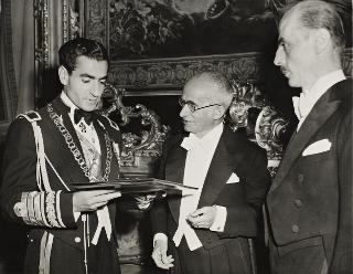 Visita di stato dello Scià di Persia, Sua Maestà Imperiale Mohammad Reza Shah Pahlavi