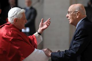 Incontro con Papa Benedetto XVI
