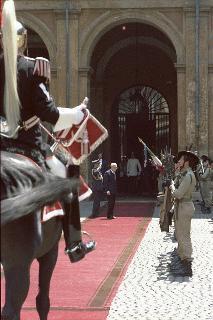 Cerimonia di insediamento del Presidente della Repubblica Sandro Pertini