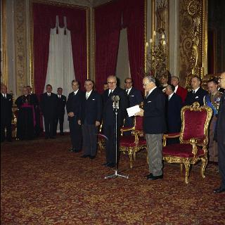 Giuramento del Presidente della Repubblica Giuseppe Saragat