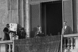Cerimonia di insediamento del Presidente della Repubblica Antonio Segni