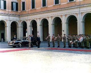 Insediamento del Presidente Francesco Cossiga, 3 Luglio 1985