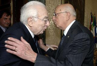 Insediamento del Presidente Giorgio Napolitano, 16 Maggio 2006